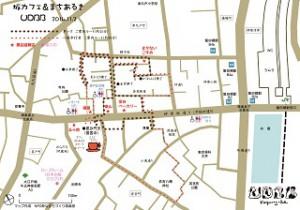神楽坂UDBBマップ2014